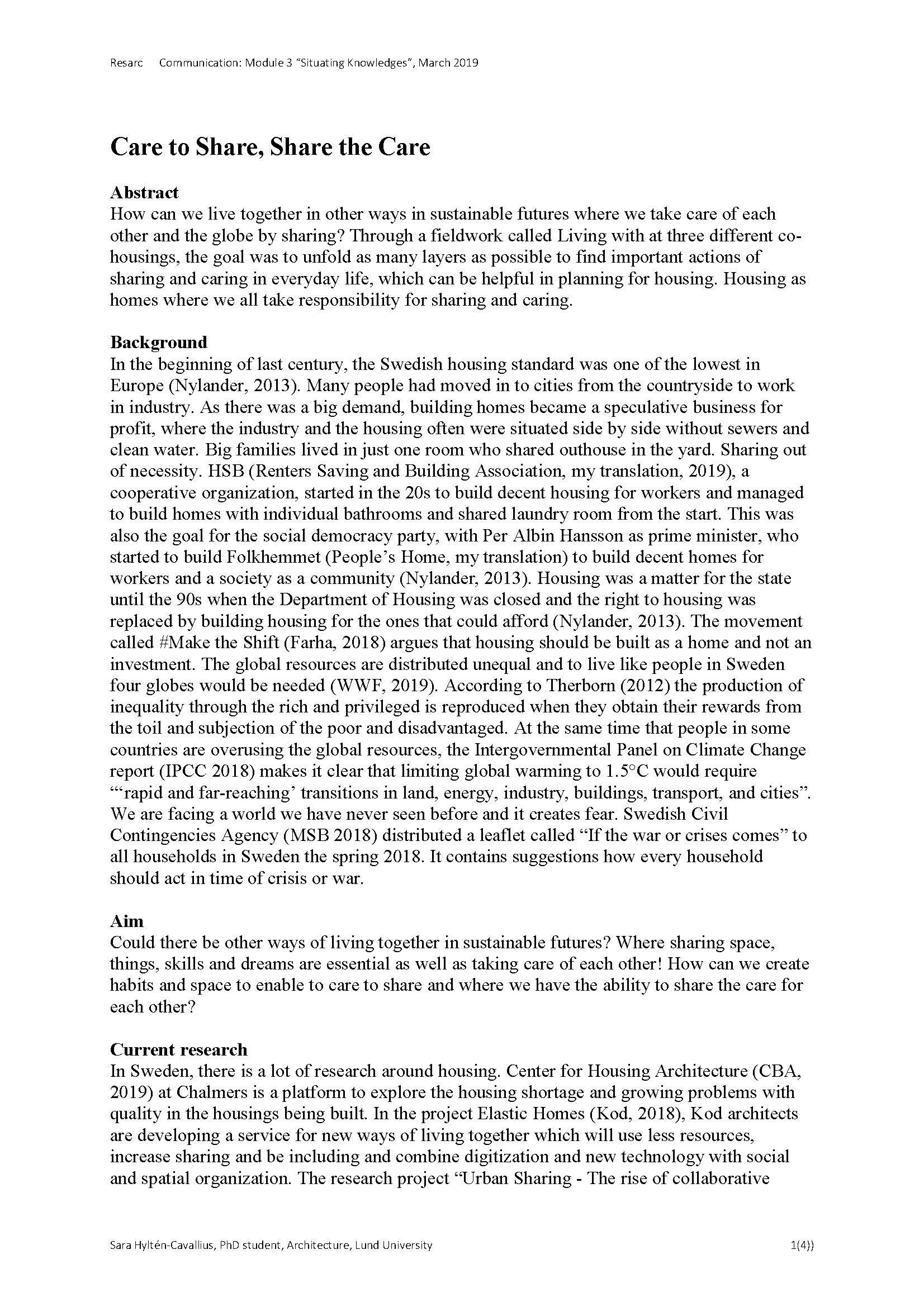 Resarc Module 3 Mars 2019 Sara HC 2_Sida_1
